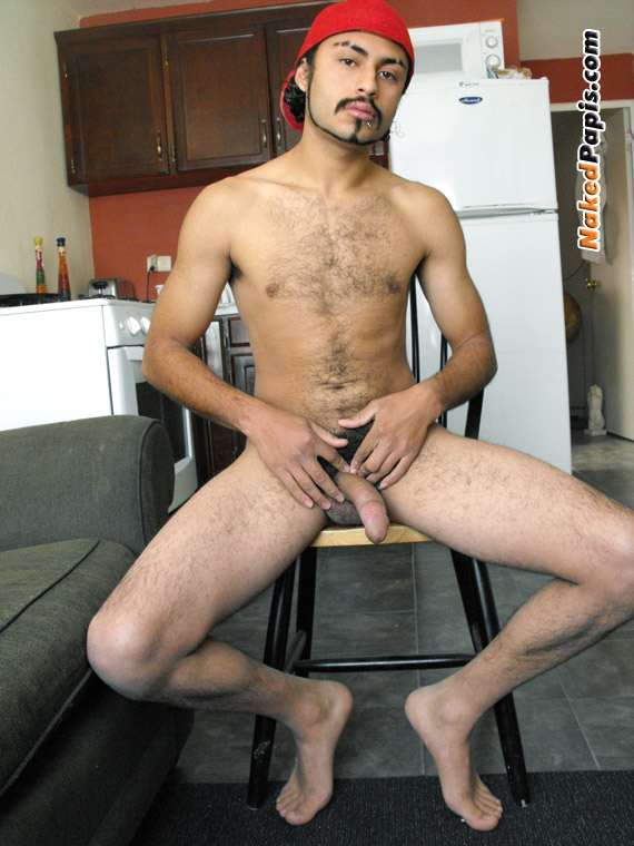 Nude young male latinos